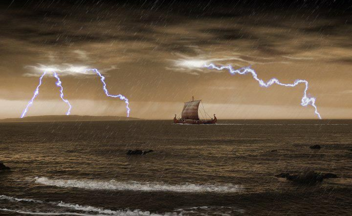 100 best images about Viking Ships on Pinterest | The boat ...Viking Ship Storm