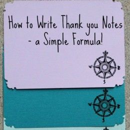 Thank You Note Card Samples and What to Write