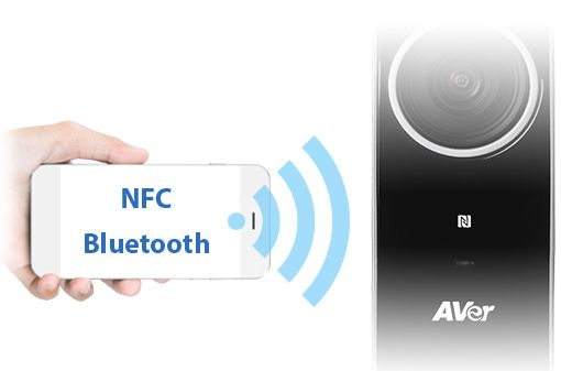 Versatile NFC and Bluetooth Connectivity