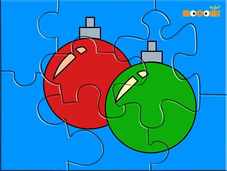 puzzle bombki