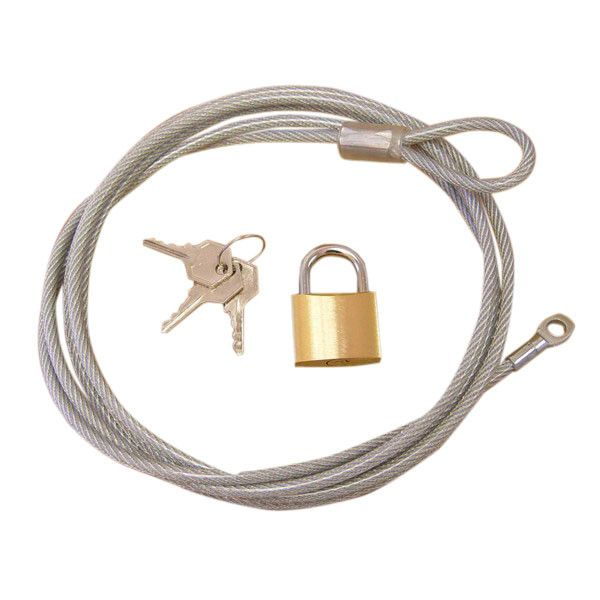 Car Cover Lock and Cable Kit