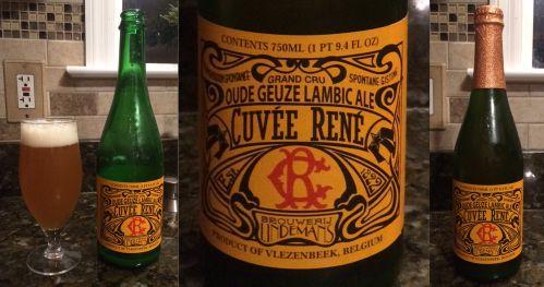 Lindemans Cuvee Rene Oude Geuze Lambic Ale