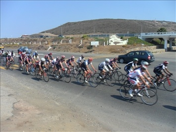 Famous Bike Ride, From Playas de Rosarito to Ensenada, This Picture is At km 38 El Morro, Baja California.