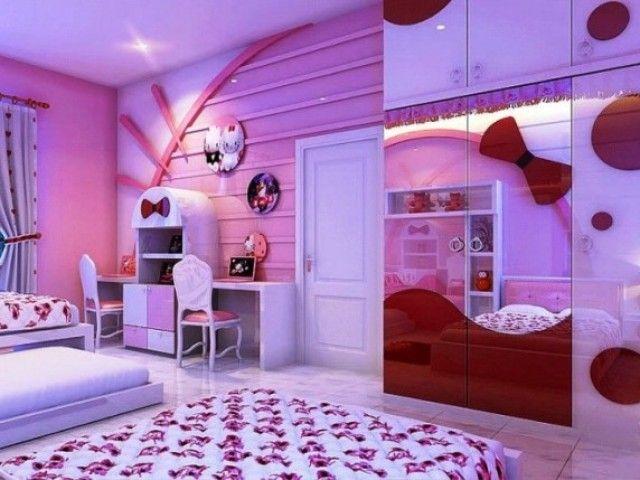 Hello kitty bedroom decor