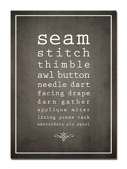 for my new sewing room