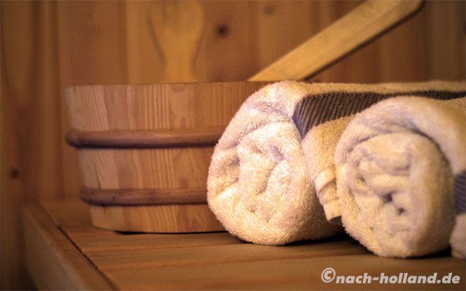 Privates Wellness-Programm inklusive! Eine eigene Sauna in der Ferienwohnung bei Landal Vlieduyn auf der wunderschönen Watteninsel Vlieland machts möglich.