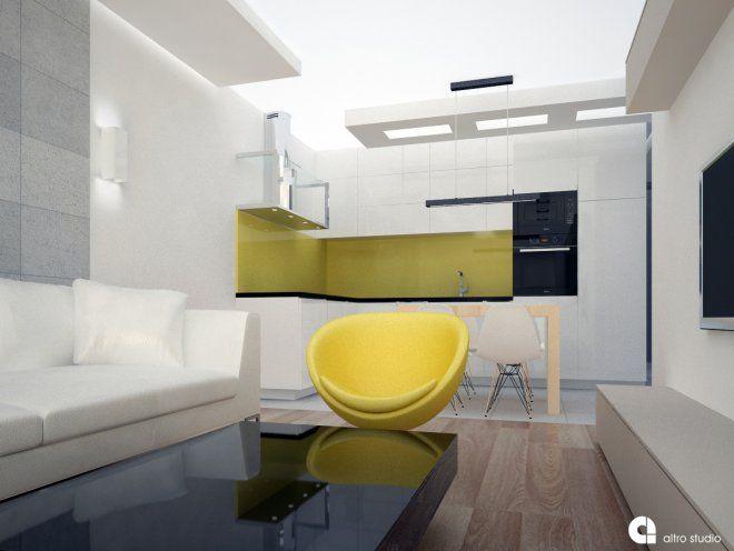 Projekt wnętrza mieszkalnego- etapy rozwoju koncepcji http://altrostudio.com.pl
