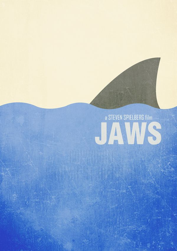 Minimal Movie Posters by Fariza Strömblad, via Behance