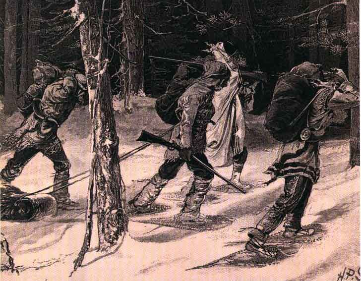 "Coureurs des bois or ""runners of the woods"""