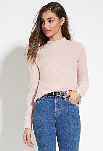 Brushed Knit Sweater | Forever 21 - 2000163546