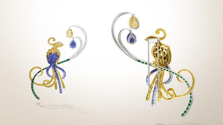 Attention to Detail. Oiseaux de Paradis clip. Van Cleef & Arpels.