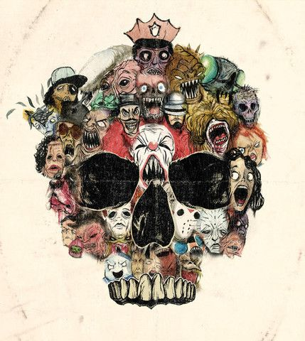'Cult Skull' by Alex Pardee