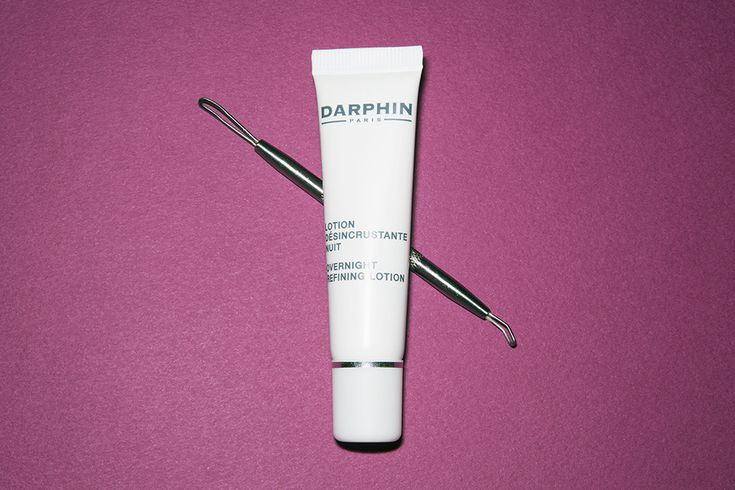 The Numerous Wonders Of The Blackhead Tool - Dauphin Overnight Refining Lotion and Tweezerman No-Slip Skin Care Tool