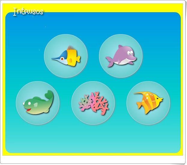 """""""Intrusos"""" de ramonlaporta.es (Lógica y conceptos básicos en Educación Infantil)"""