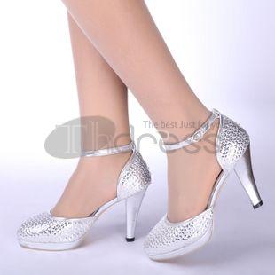 rode schoenen van de bruid bruiloft schoenen zilver