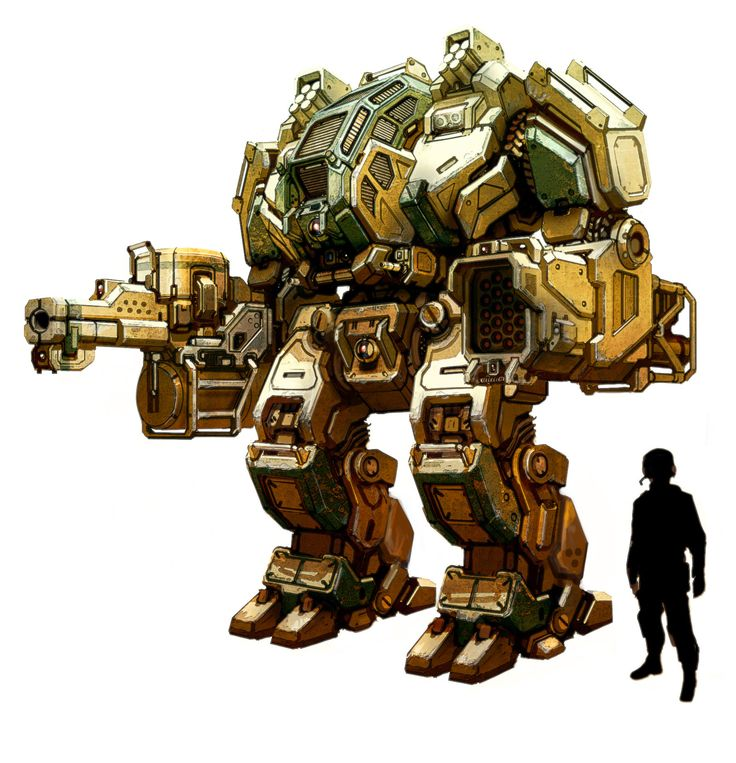 Megabot by flyingdebris mech mecha robot battletech armor clothes clothing fashion player character npc | Create your own roleplaying game material w/ RPG Bard: www.rpgbard.com | Writing inspiration for Dungeons and Dragons DND D&D Pathfinder PFRPG Warhammer 40k Star Wars Shadowrun Call of Cthulhu Lord of the Rings LoTR + d20 fantasy science fiction scifi horror design | Not Trusty Sword art: click artwork for source
