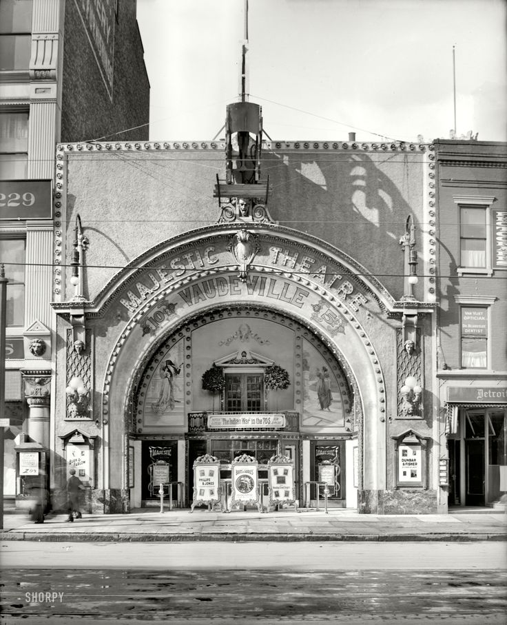 Metro Last Light Theater Acts: The Majestic Theatre, Woodward Ave.