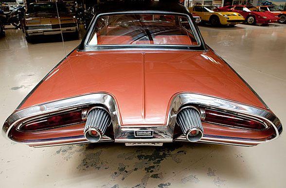 Chrysler Turbine Car: The 1963 Chrysler Turbine :: Rear