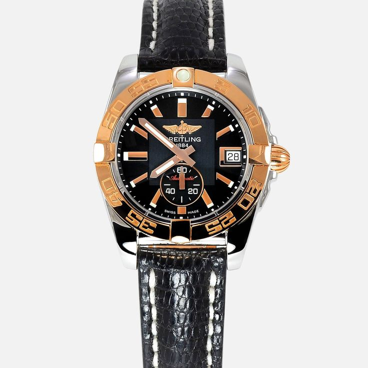Breitling Galactic 36 Automatic 18K Rose Gold/SS Ladies Watch C37330