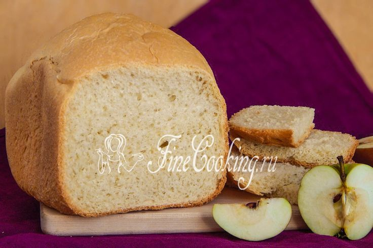 Яблочный хлеб в хлебопечке