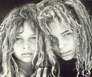 I'm not big on dreads, but I think these two would be gorgeous with ANY hairstyle! OMG!