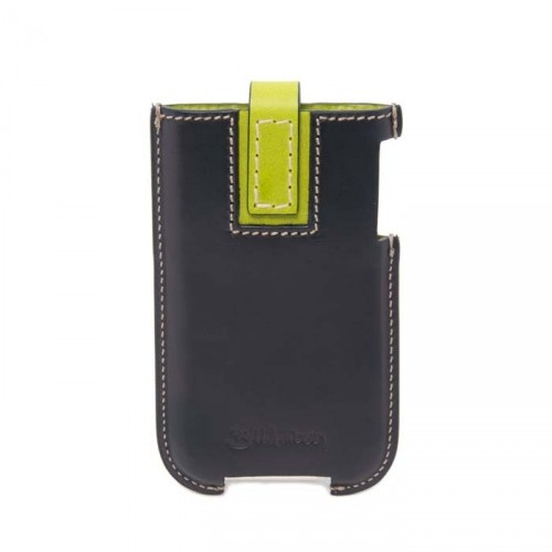 This leather iPhone 4 case is made from a beautiful veg tanned leather that will age beautifully.Designed for the iPhone 4 this case has a contrast coloured clasp to keep your phone secure.
