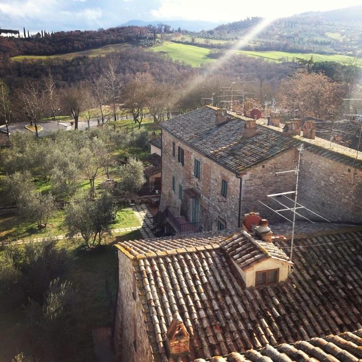 Albergo Le Terme in Bagno Vignoni || via AllaFiorentina.com