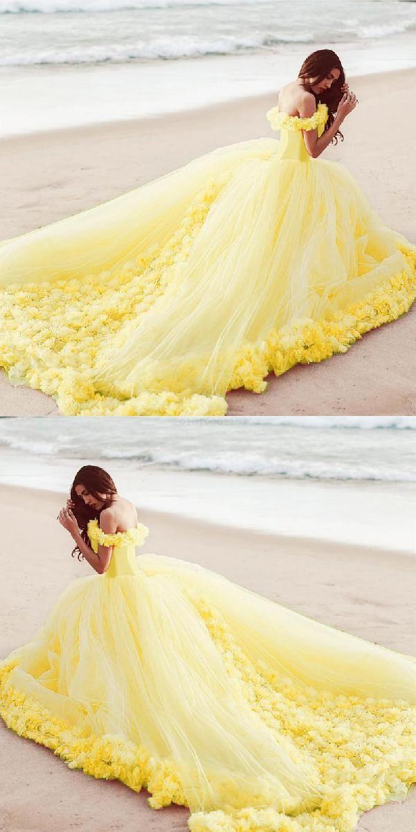 Cheap Splendid Dress Yellow, Dress Ball Gown
