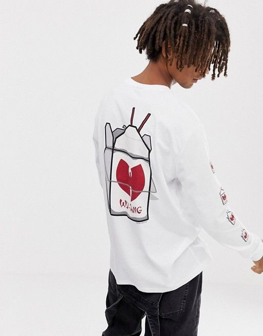 1ba6e8854c82e DESIGN Wu-tang Clan relaxed long sleeve t-shirt in 2019 | MY LICENSE ...