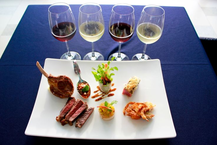 Tantalizing Tapas Platter With Four Fine Continental Wines