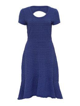 Jasmine short sleeve dress in Blue Agate