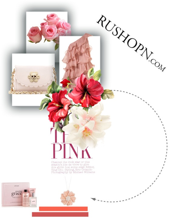 """flower"" by line-gulbrandsen on Polyvore"