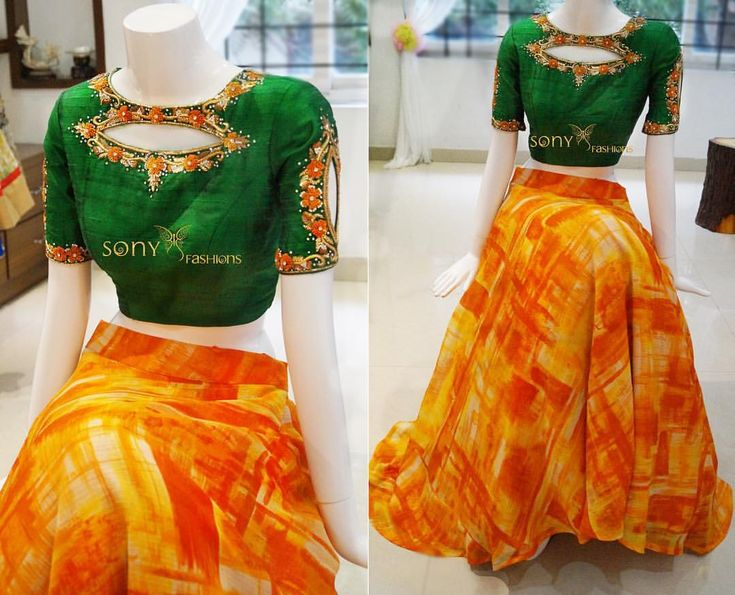 Beautiful simple Croptops for this festive season is a right choice Wht say girls ud83dude0dud83dude0dud83dude0d beautifulcolors celebration custommade sonyfashion sonyredd ethnicwear To place order:-Call or whtsapp:-8008100885 30 September 2016