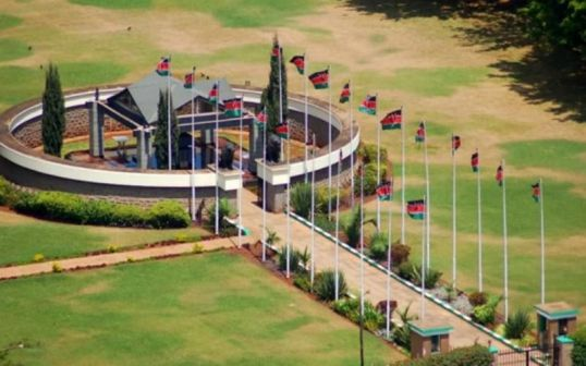 KENYA :Founding President Jomo Kenyatta's remains still at parliament?