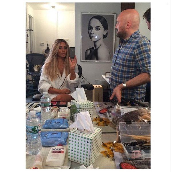 Kim Kardashian Is Blond Again—Check Out Her Latest Hairstyle! - Kim Kardashian Style