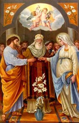 Wedding of Mary and Joseph, January 23rd :: Nupcias de María y José, 23 de enero