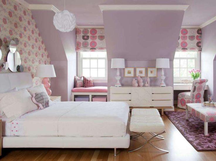 Idee per arredare la camera da letto con il color lavanda - Camera da letto lavanda e rosa