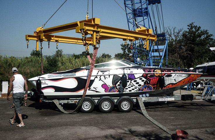 Baja Boatwrapping #signmania #boatwrapping #boats #boatwrap #wrapping #boat #design - www.signmania.com
