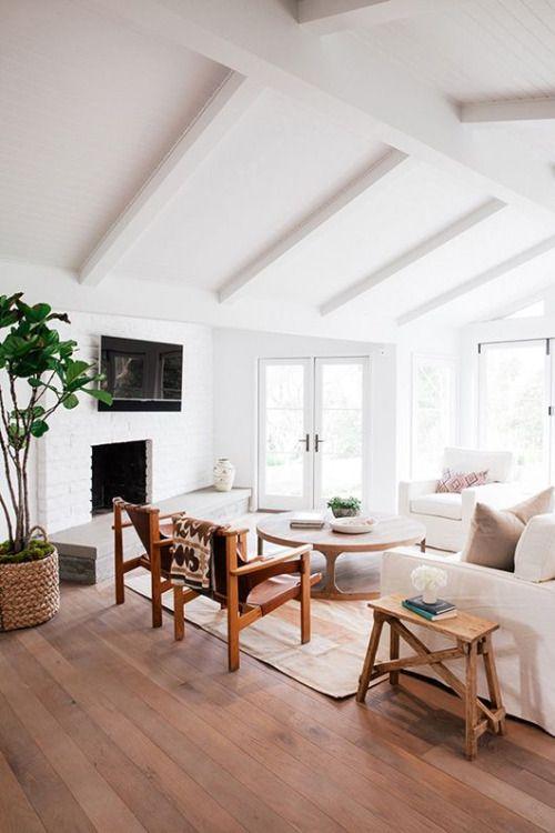 Wooden cabin interior idea.  https://www.quick-garden.co.uk/residential-log-cabins.html