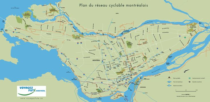 plan velo montreal