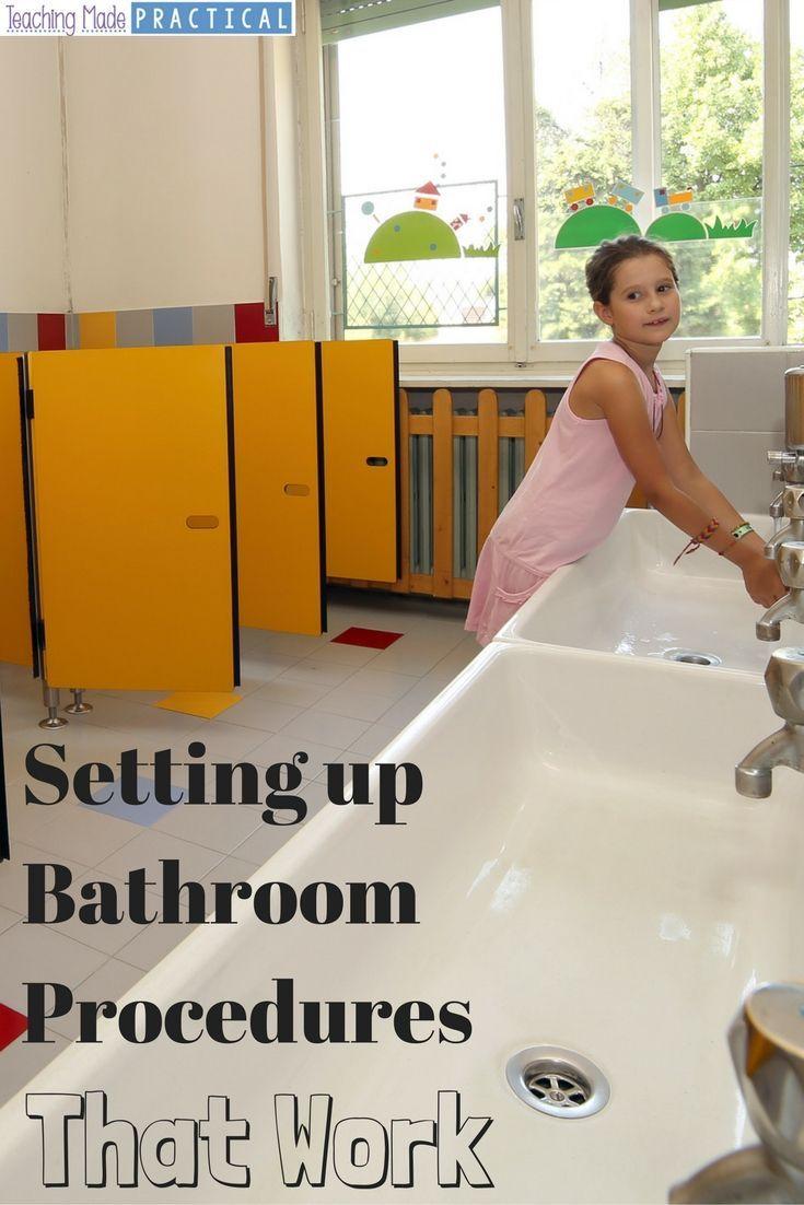Elementary School Bathroom Design 92 best managing bathroom trips images on pinterest | classroom