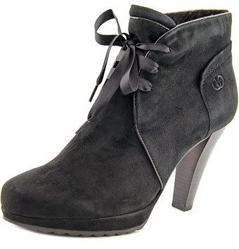Gerry Weber Liliana 13 Women Round Toe Leather Ankle Boot.
