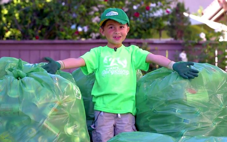 Ryan got into recycling in 2012 – when he was only three – and his efforts to help the environment and animals have not stopped since. He has started a recycling business and already recycled almost 300,000 plastic bottles and cans that would have otherwise ended up in a landfill or in the ocean!