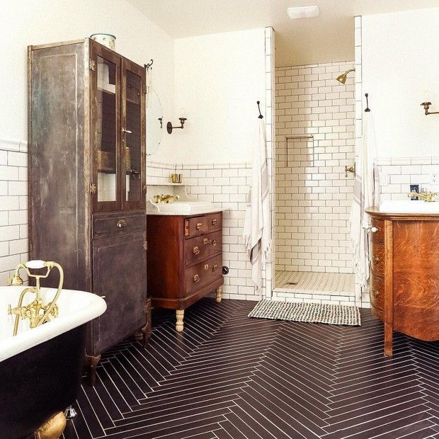 30 Kitchen Floor Tile Ideas Designs And Inspiration 2016: 30 Best Images About Small Bathroom Floor Tile Ideas On