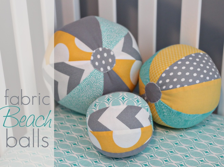 how to make a ball with fabric