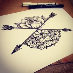 Geometrical Design By Ifigeneia! #geometry #geometrical #mandala #rose #dotwork #sketch #blackwork #pointillism