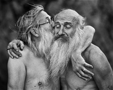 Old men by Belgian photographer Stephan Vanfleteren