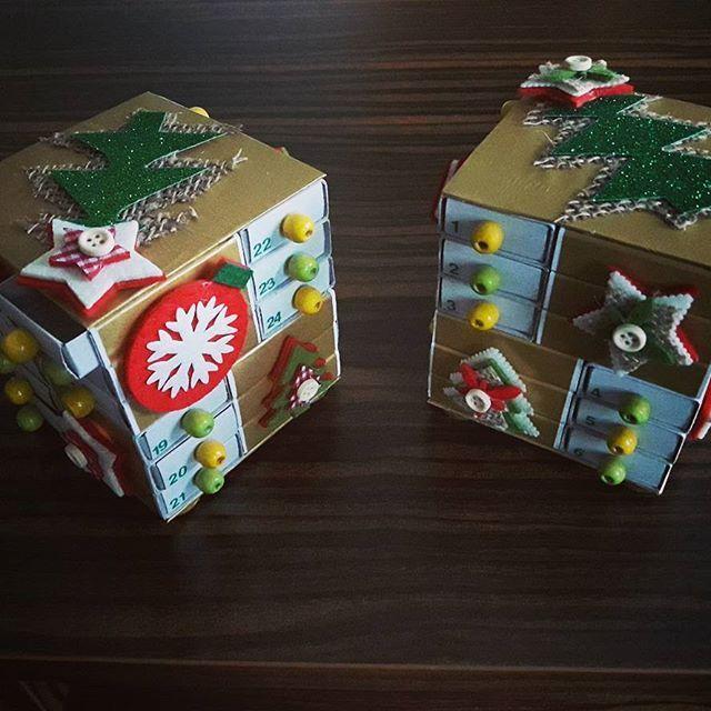 Coraz bliżej...🤔🎄🎁 #kalendarzadwentowy  #adventcalendar #diy #doitforyourself #christmastime