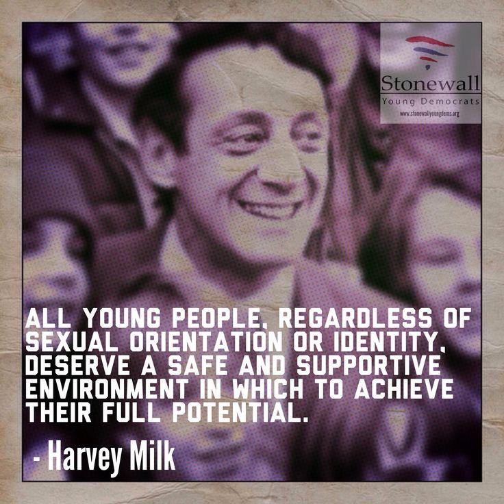 from Ezequiel harvey milk gay movement quote