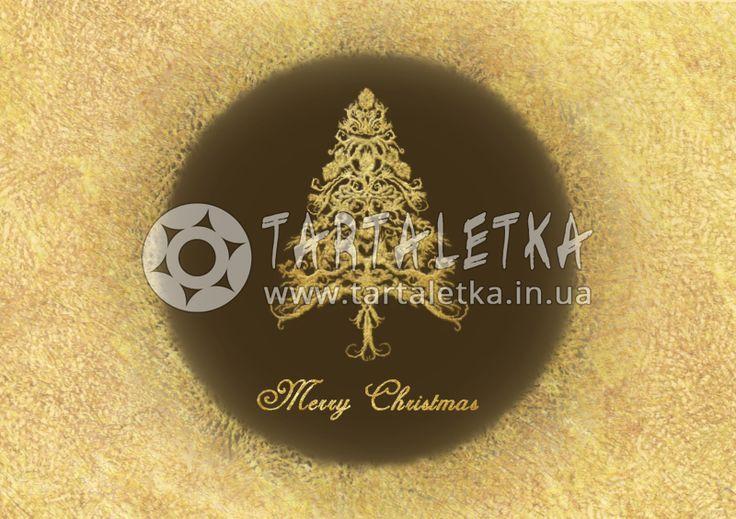 Рождественская открытка / Greeting Card Merry Christmas   Tartaletka